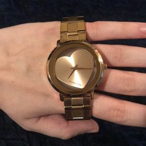 Micheal Kors Heart watch